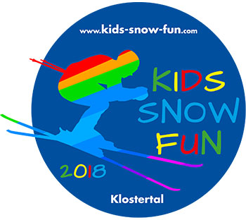 Logo Kids Snow Fun 2017 blau